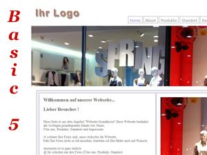 Statische Webseite Basic 5