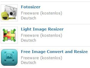 Kostenlose Bildbearbeitungsprogramme