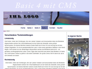 Theme basic4wordpress