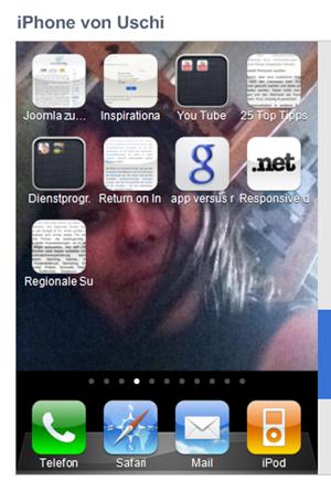 Webseiten als Apps auf dem iPHone Homescreen