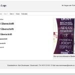 Seite 3 vom Theme basci1wordpress