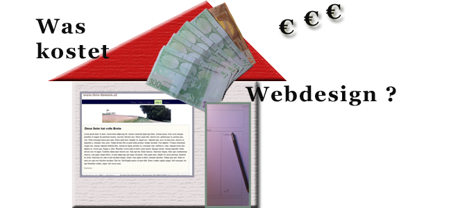 Was kostet Webdesign