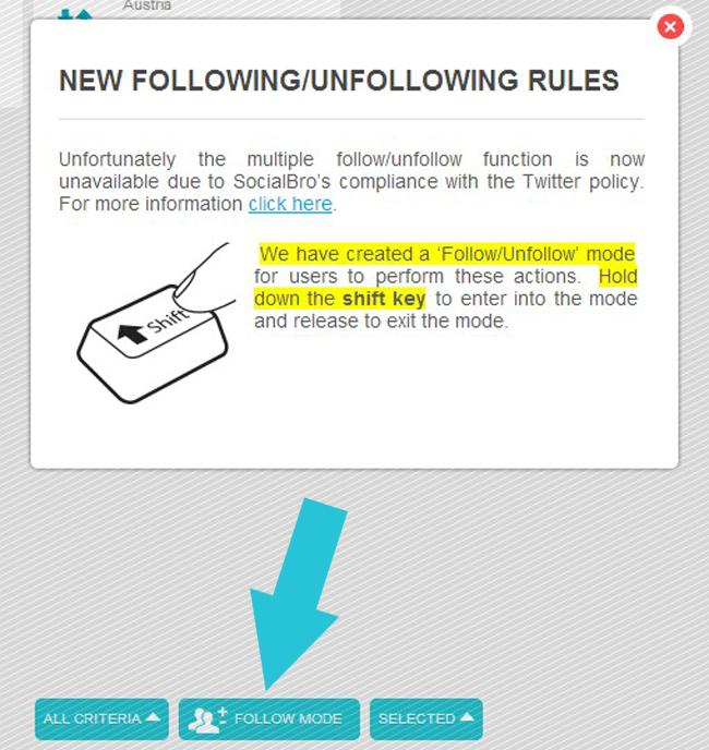 Social Bro neue Regel
