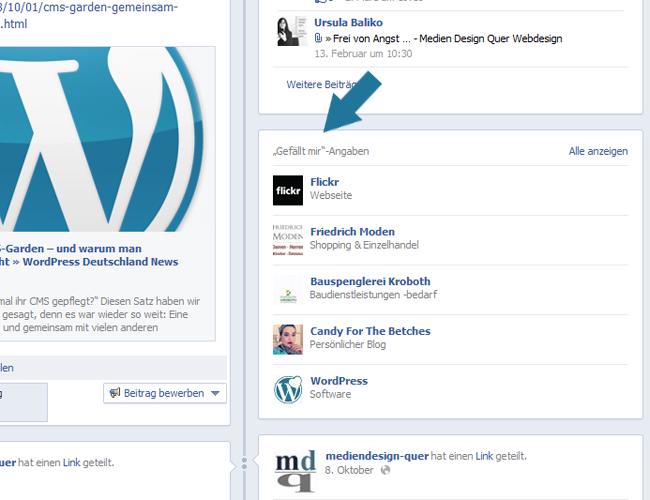 Facebook Fanpage Sidebar