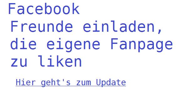 update- facebook-freunde-einladen-fanpage -zu- liken