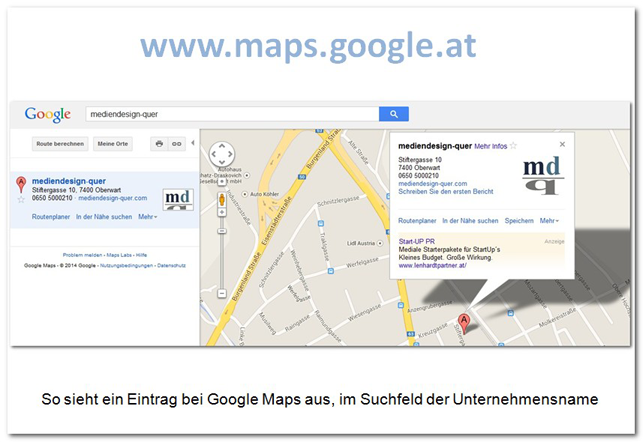 eigenes unternehmen in google maps eintragen via google places teil 1 eine bersicht. Black Bedroom Furniture Sets. Home Design Ideas