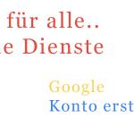 Google Konto erstellen