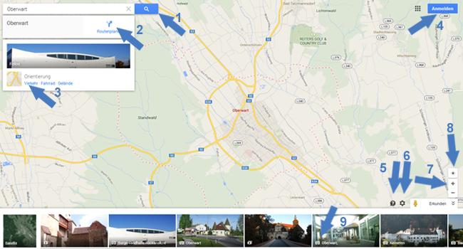 Neue Google Maps Oberwart
