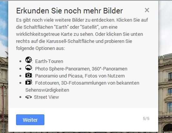 Neue Google Maps Symbole erkunden