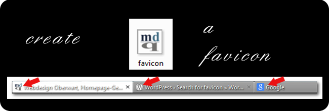 Favicon in WordPress Theme einbinden