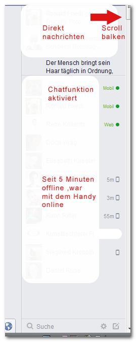 Facebook Chatstatus