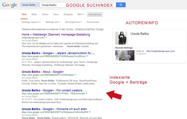 Google Suchindex