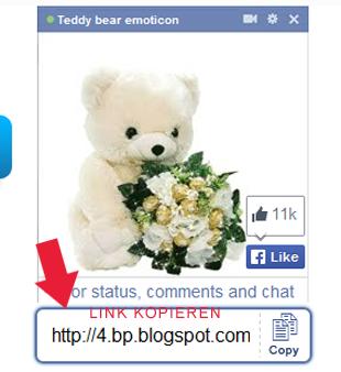 Teddy einfügen