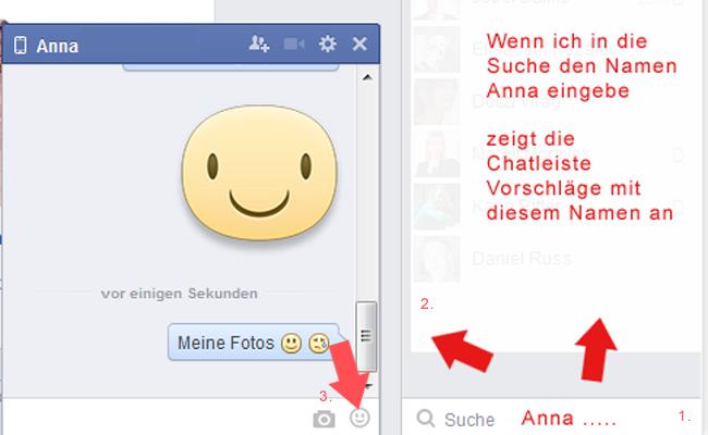 Facebook Chat starten