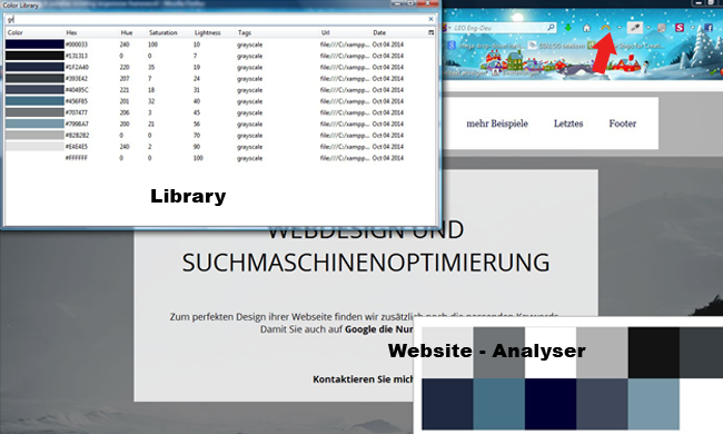 Library und Website Analyzer