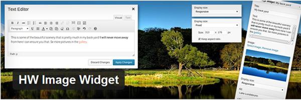 HW Image Widget Plugin