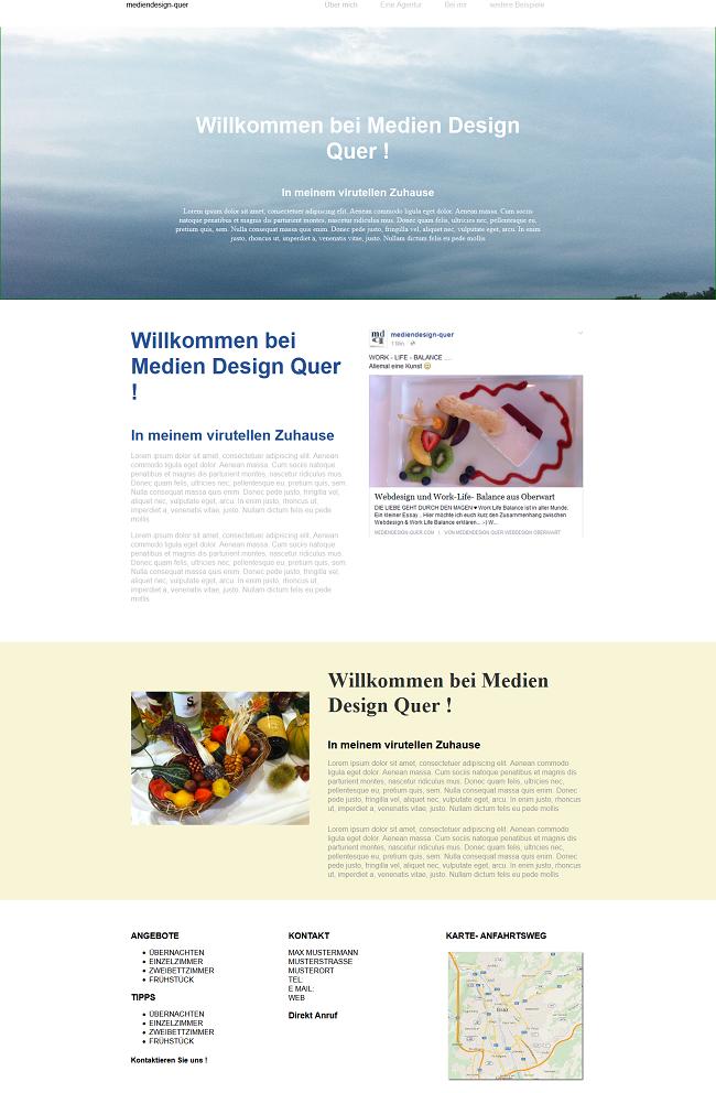 Ein neues WordPress Theme entsteht - Design
