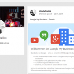 Google My Business - how to Beitrag