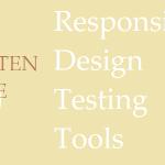 5 Responsive Desing Test Tools