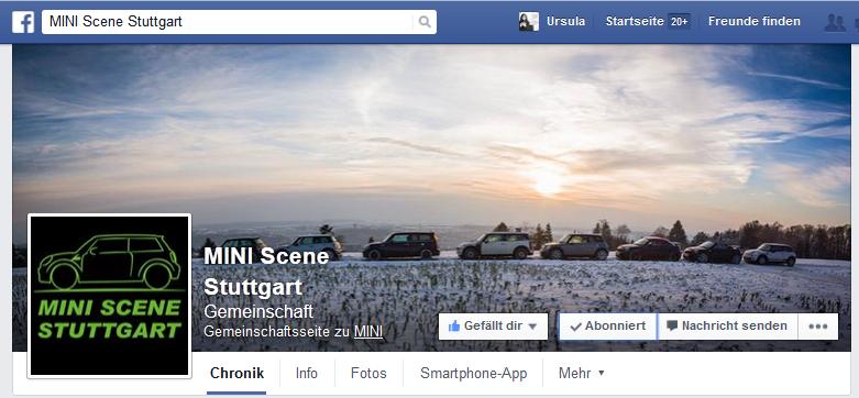 FB Fanpage MINI Scene Stuttgart