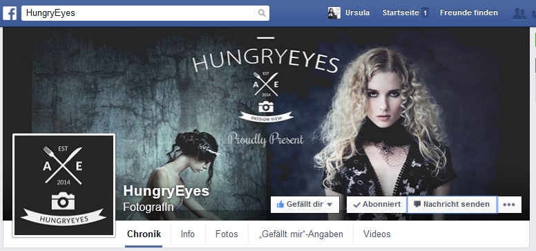 FB Fanpage Hungry Eyes