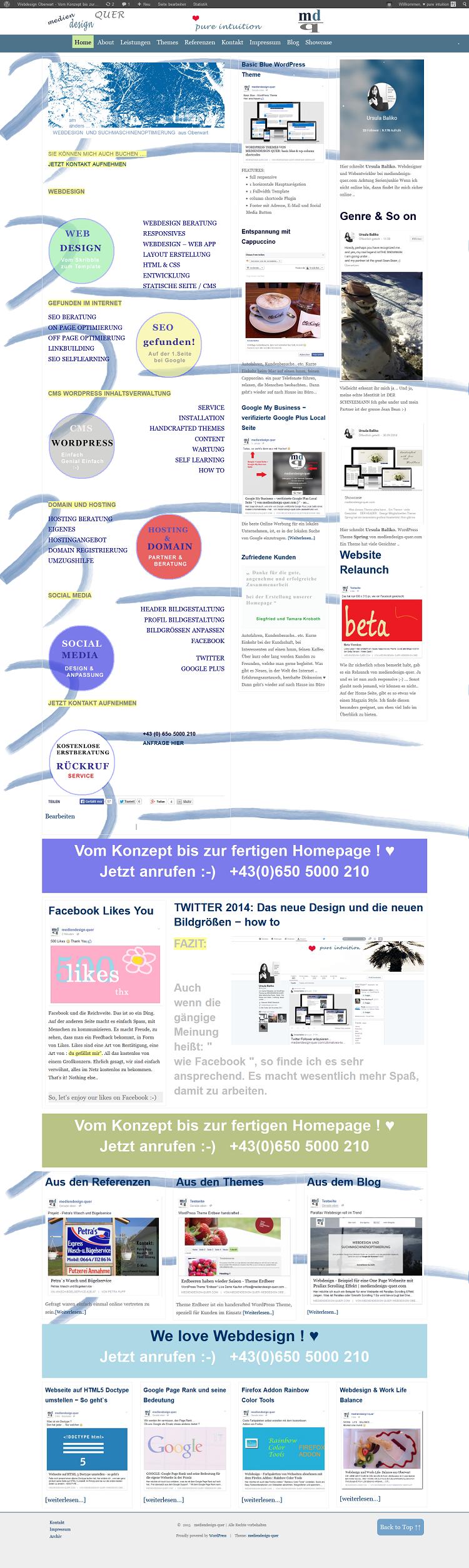 Webdesign Oberwart - jetzt auch in responsivem Design