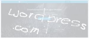 Kostenlose Webseite mit wordpress.com für Startups
