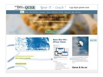 Webdesign-Vorlage #1