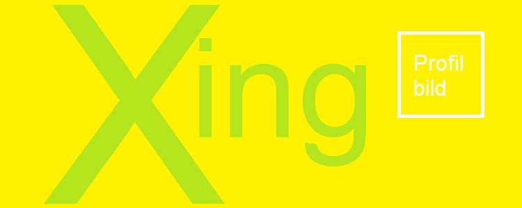 Xing Profilbild quadratisch