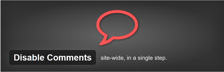 WordPress Plugin-Disable Comments