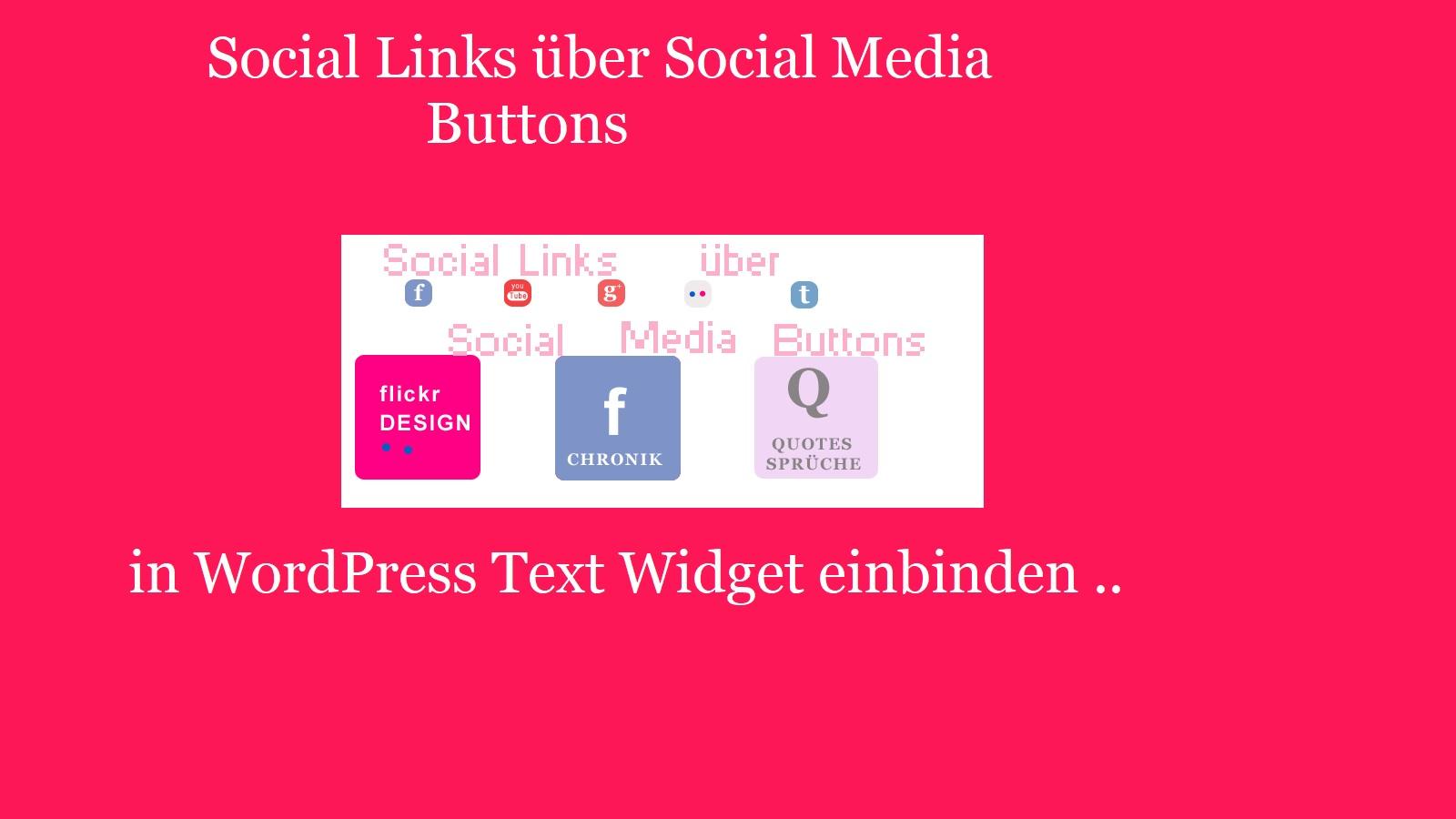 social-media-buttons-einbinden