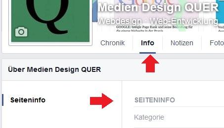 info-seiteninfo Facebook