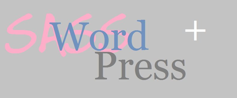 sass und wordpress