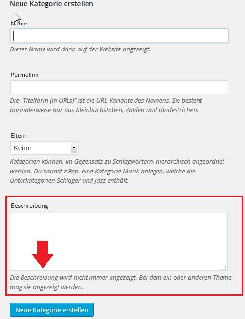 wordpress-neue-kategorie-erstellen