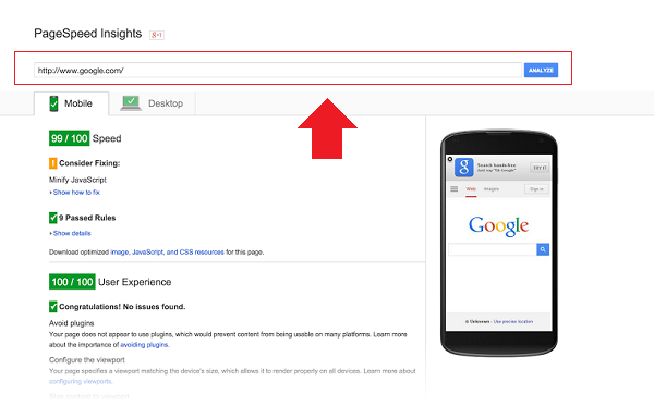 page-speed-insights-google
