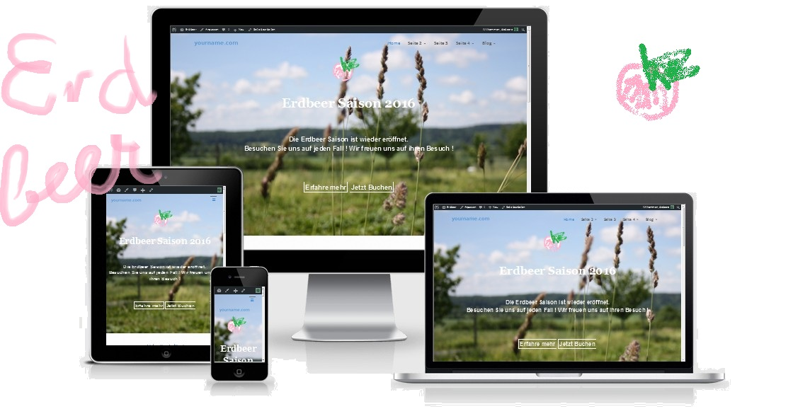 wordpress-theme-erdbeer