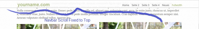 navbar-scroll-fixed-to-top