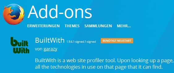 firefox-addon-builtwith