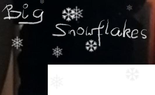 big-snow-flakes