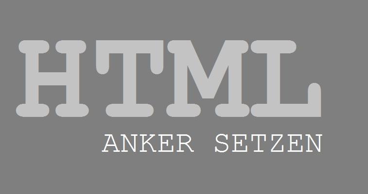 html-anker-setzen