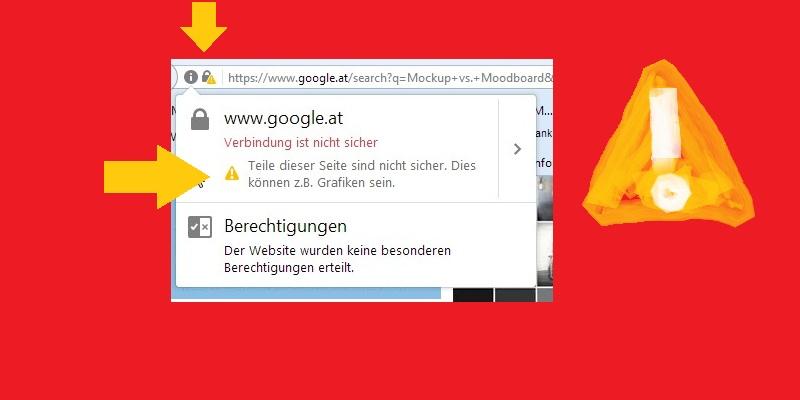 google-at-gelbes-zeichen