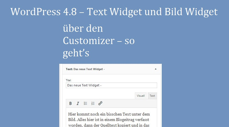 wordpress-text-widget-ueber-den-customizer