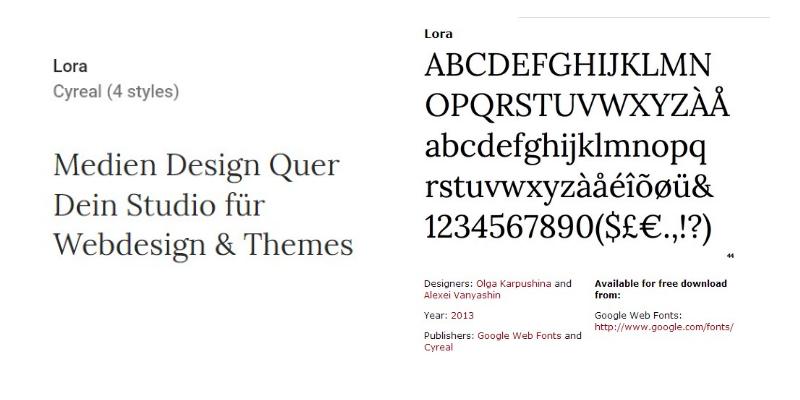 lora-free-font