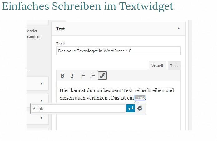 einfaches-schreiben-text-widget