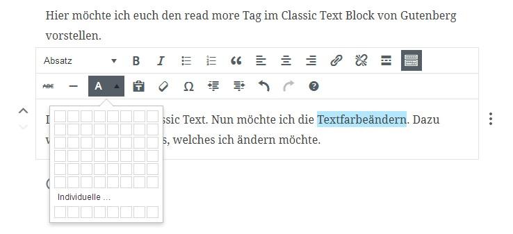 textfarbe-aendern