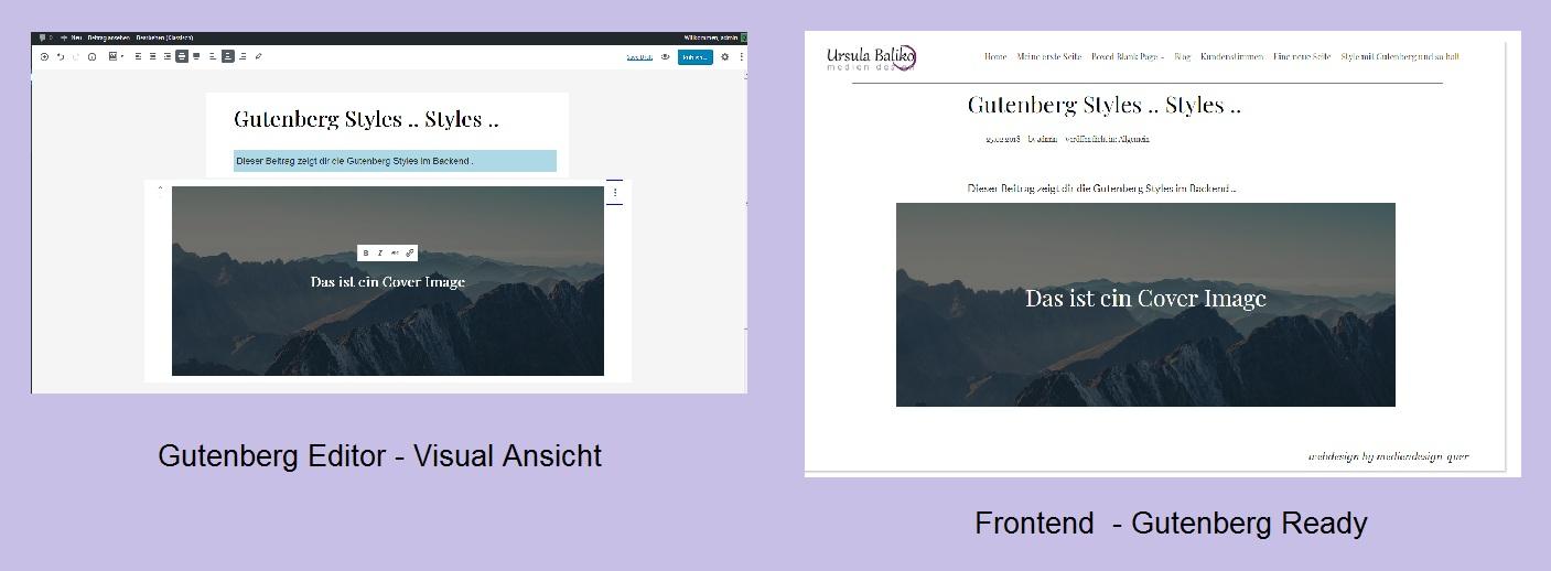 gutenberg-backend-frontend-style
