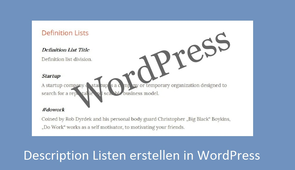 description-list-wordpress