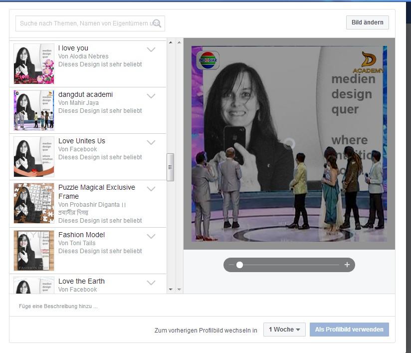 Vorübergehendes verlängern facebook profilbild Facebook Likes