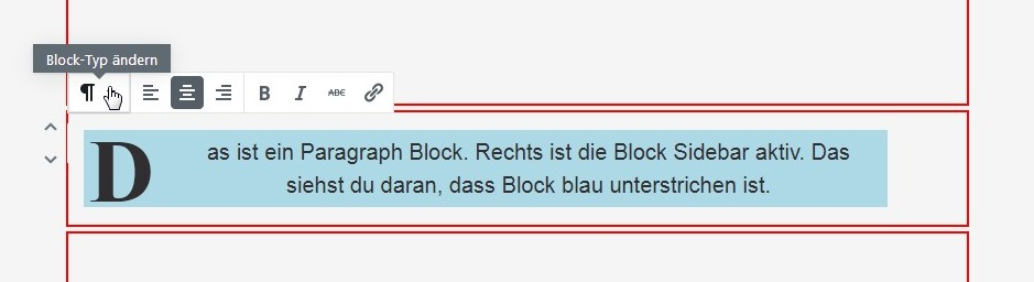 block-werkzeugleiste
