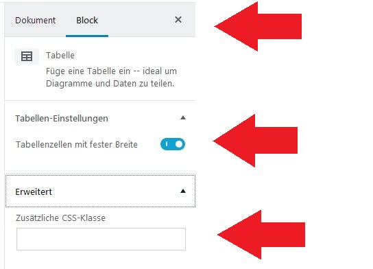 wordpress-gutenberg-tabelle-block-rechts